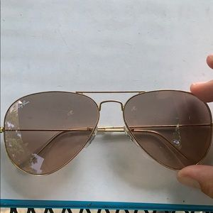 Authentic aviator ray bans good condition